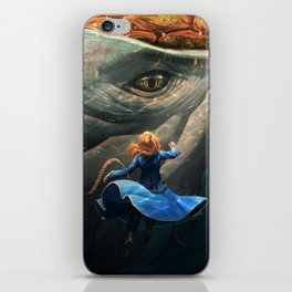 Shallan and the Santhid iPhone Skin