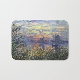 Claude Monet, French, 1840-1926 Marine View with a Sunset Bath Mat