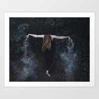 "witchcraft Art Prints featuring ""witchcraft"" by Sonja Lovdal"