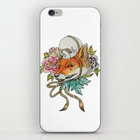 kitsune iPhone & iPod Skins featuring Kitsune by Total-Cult