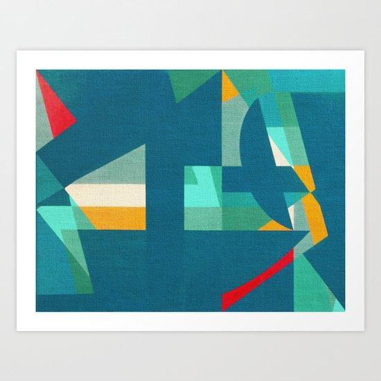 La Gabbianella e La Pesca Art Print