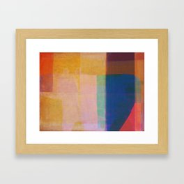 Hippo Sunken Framed Art Print