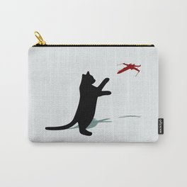 Cat and X-Wing Carry-All Pouch