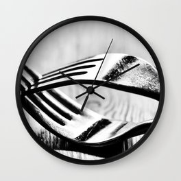 Cutlery 1: Forked Wall Clock