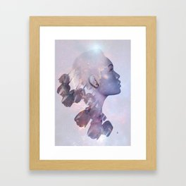 You Were.. Framed Art Print