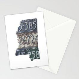 Vintage Mississippi Stationery Cards
