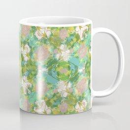 Vintage Floral Print Pattern Coffee Mug