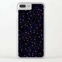 that big sky full of big stars Clear iPhone Case
