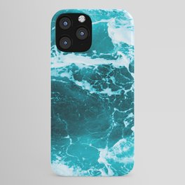 Deep Turquoise Sea - Nature Photography iPhone Case