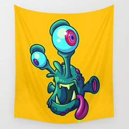 An Alien Named Frank Wall Tapestry