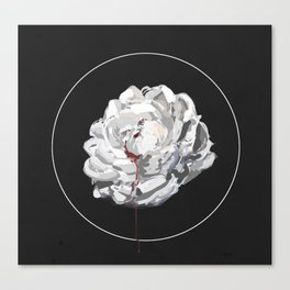 His Blood Canvas Print