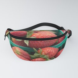 Strawberries at the Farmers Market Fanny Pack