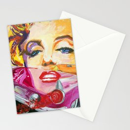 Legends - Ford Thunderbird and MarilynMonroe Stationery Cards