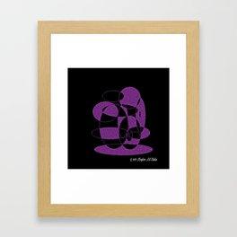 Purple Dreams 12 Framed Art Print