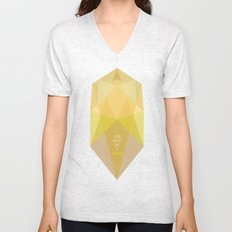 Shine bright like a diamond  Unisex V-Neck