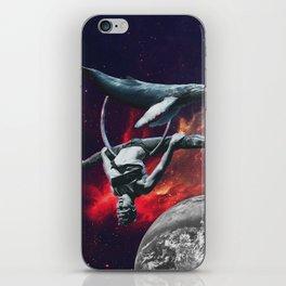 Whale on Eart iPhone Skin