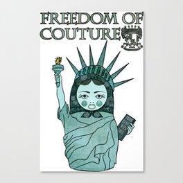 Liberty Matryoshka Canvas Print