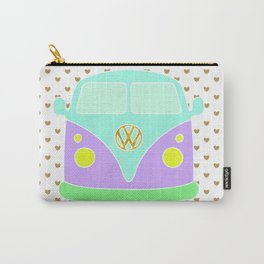 Pastel Bus - I love travelling Carry-All Pouch