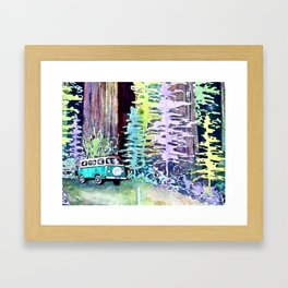 Camper Van Framed Art Print