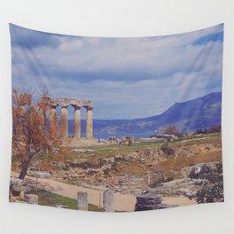 Ancient Corinth Wall Tapestry