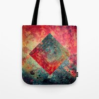 square Tote Bags featuring Random Square by Esco