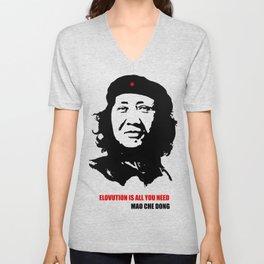 Mao Che Dong - Elovution Unisex V-Neck