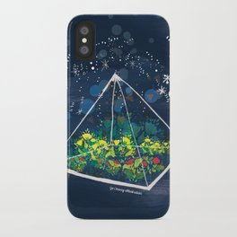 The Greenhouse at Night iPhone Case
