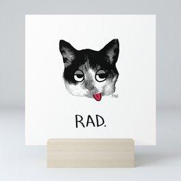 RAD. Mini Art Print