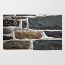 Stone Wall Texture Rug