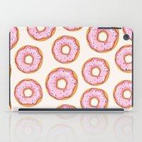 donut iPad Cases featuring Donut by Ceren Aksu Dikenci