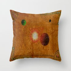 Space Map…and then you turn left 031 Throw Pillow
