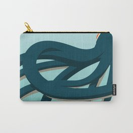 Octopus blue Carry-All Pouch