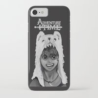 finn iPhone & iPod Cases featuring Finn by peter11532