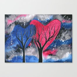 Night Romance Canvas Print