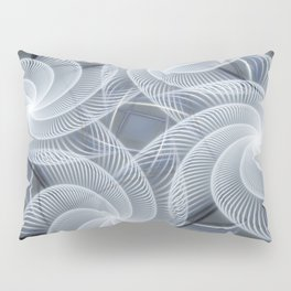 Fractal abstract with pinwheels Pillow Sham