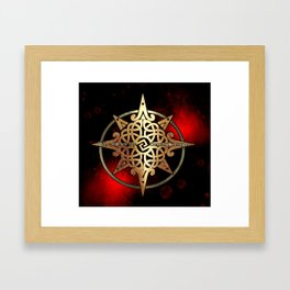 WITH EVERY NEW DAY COMES NEW STRENGTH Framed Art Print
