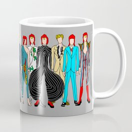 Gray Heroes Group Fashion Outfits Coffee Mug