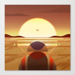 Star: Sunset Canvas Print