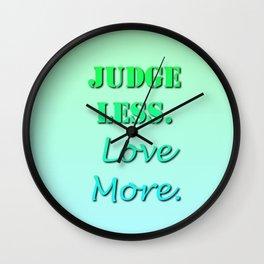Resolutions Wall Clock