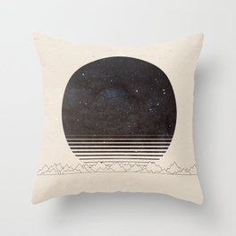 Spacescape Variant Throw Pillow
