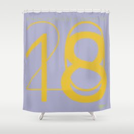 To a better year in 2018 Shower Curtain