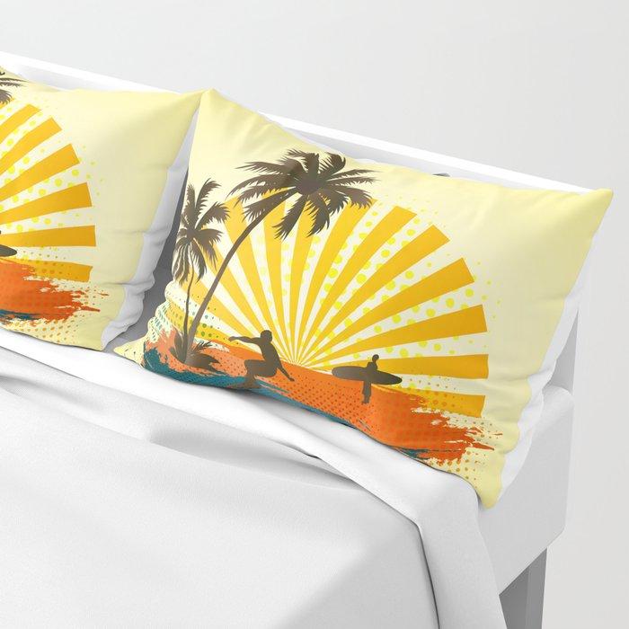 Surfers Pillow Sham