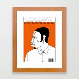 1001 Black Men--#44 Framed Art Print