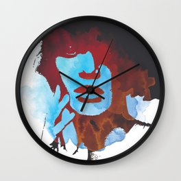 """Something about you"" Art by weart2 Wall Clock"