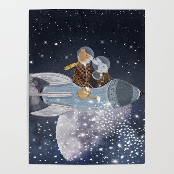 creating stars Poster