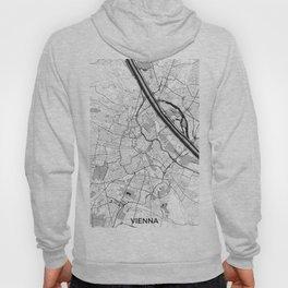 Vienna City Map Gray Hoody