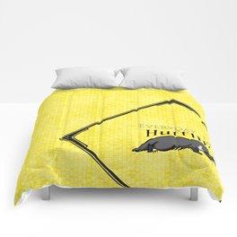Every Day I'm Hufflin' Comforters
