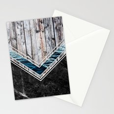 Striped Materials of Nature II Stationery Cards
