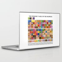 muppets Laptop & iPad Skins featuring The Periodic Table of the Muppets by Mike Boon