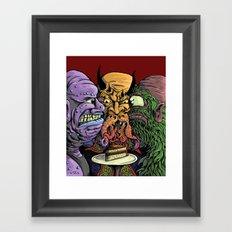 The Last Piece Framed Art Print